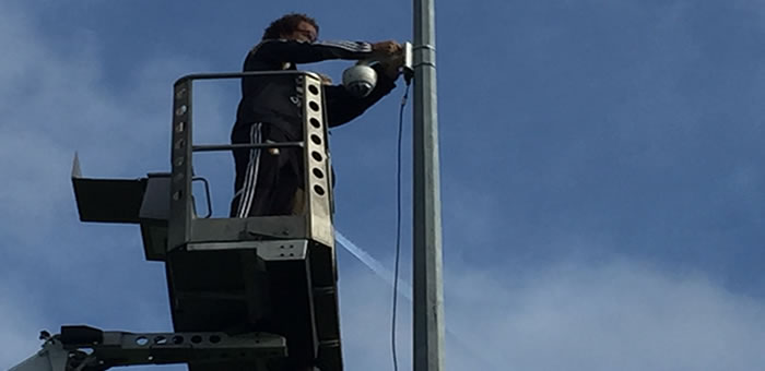 Sports Cam installation