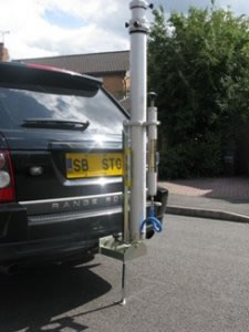 Tow Hitch Vehicle Mounting System
