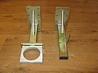 Upper & Lower Wall Mounting Brackets - Spacer Brackets